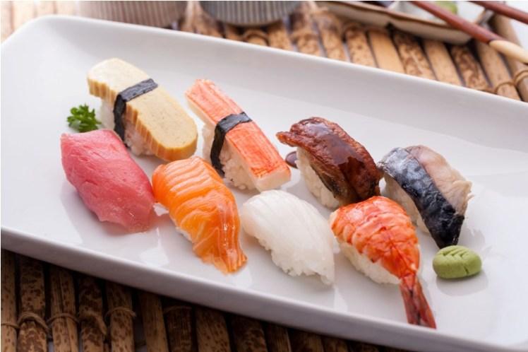 Nigiri sushi La historia del sushi Katako Sushi Bar